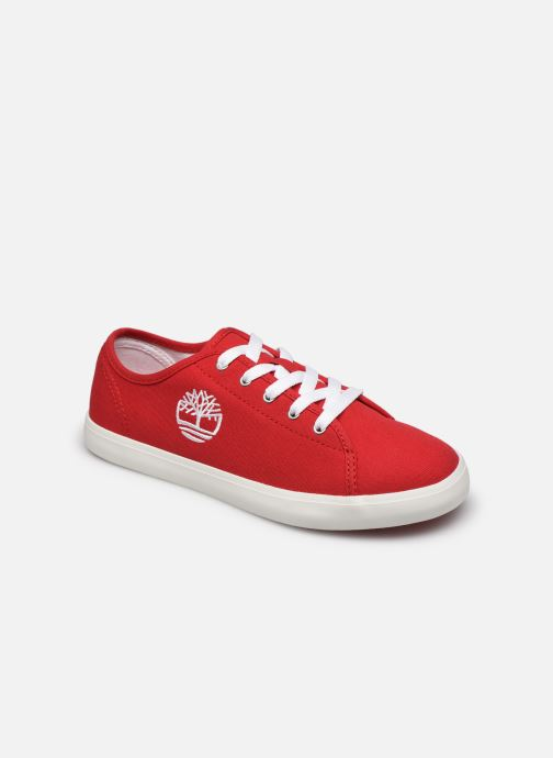 Baskets Timberland Newport Bay Canvas Ox Rouge vue détail/paire