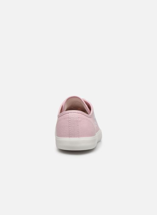 Baskets Timberland Newport Bay Canvas Ox Rose vue droite