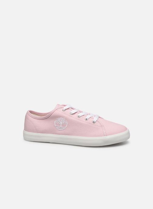 Sneakers Timberland Newport Bay Canvas Ox Roze achterkant