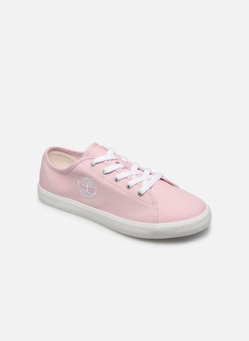 Sneakers Timberland Newport Bay Canvas Ox Roze detail