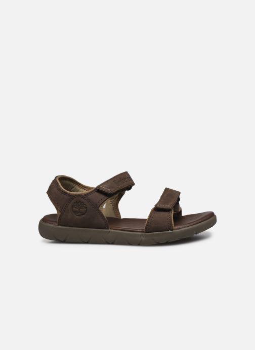 Sandali e scarpe aperte Timberland Nubble Sandal Leather 2 Strap Marrone immagine posteriore