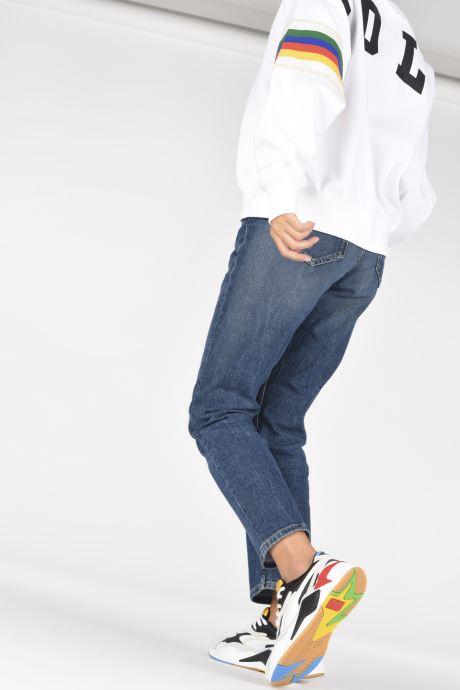 Sneaker Puma RS-X3 Unity Collection W weiß ansicht von unten / tasche getragen