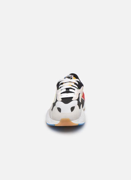 Baskets Puma RS-X3 Unity Collection M Blanc vue portées chaussures