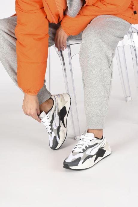 Sneaker Puma RS-X3 00 OG W weiß ansicht von unten / tasche getragen