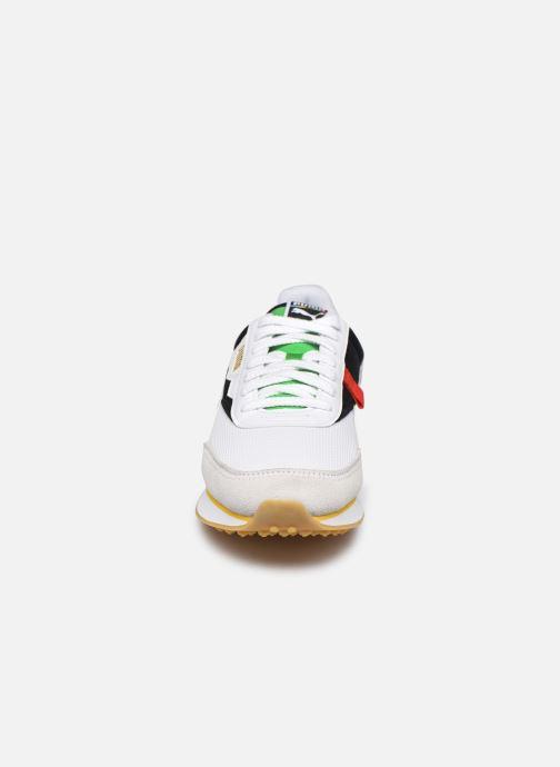 Baskets Puma Future Rider Unity Collection M Blanc vue portées chaussures