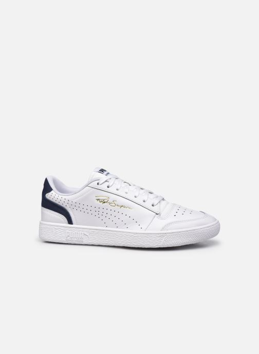 Baskets Puma Ralph Sampson Lo Perf Brushed M Blanc vue derrière