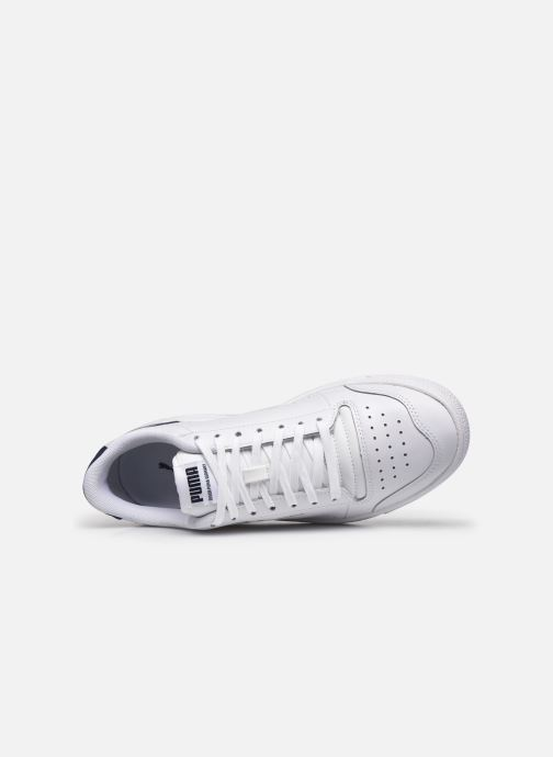 Baskets Puma Ralph Sampson Lo Perf Brushed M Blanc vue gauche