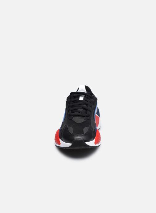 Baskets Puma RSX3 BMW Noir vue portées chaussures