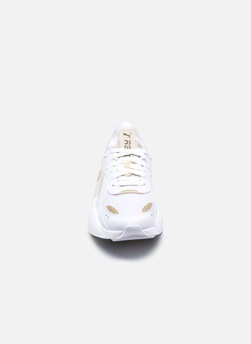 Baskets Puma RS-X Mono Metal Wn's Blanc vue portées chaussures