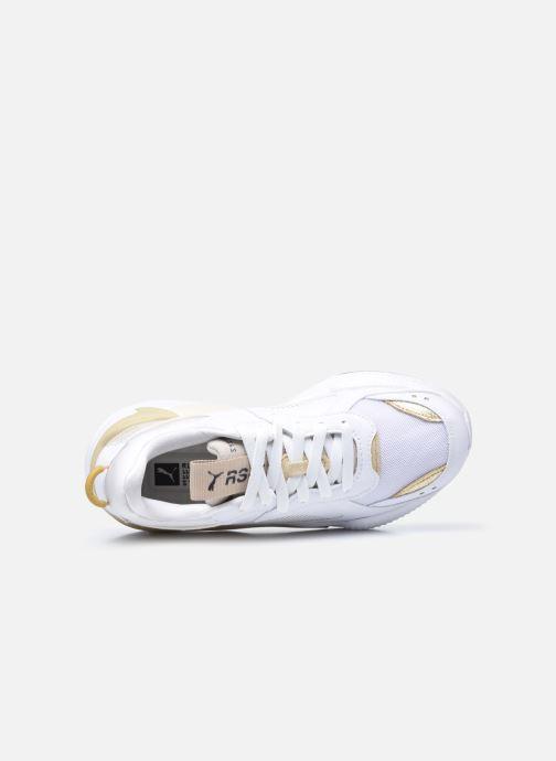 Baskets Puma RS-X Mono Metal Wn's Blanc vue gauche