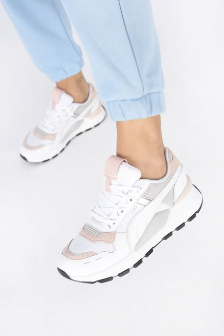 Sneaker Puma RS-2.0 Futura weiß ansicht von unten / tasche getragen