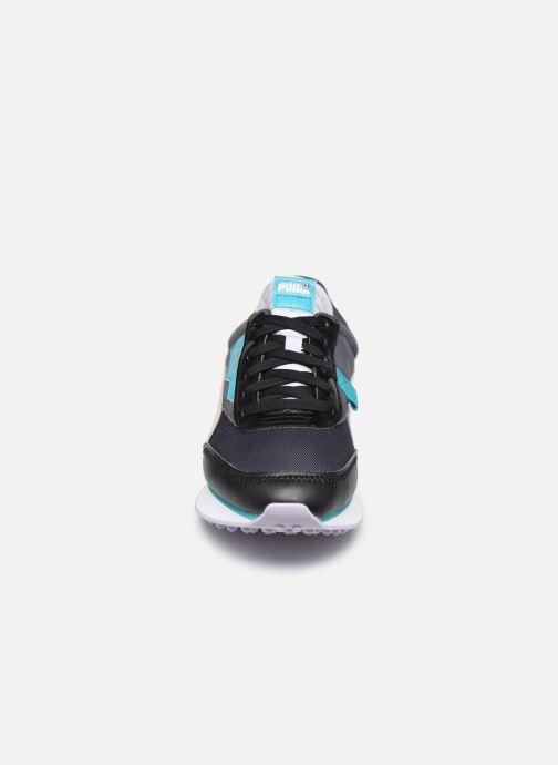 Sneaker Puma Future Rider Soft Metal Wn's schwarz schuhe getragen