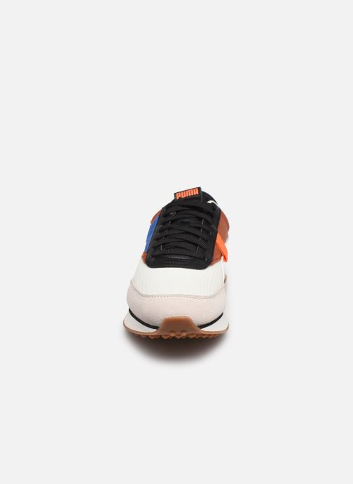 Sneaker Puma Future Rider New Purpose braun schuhe getragen