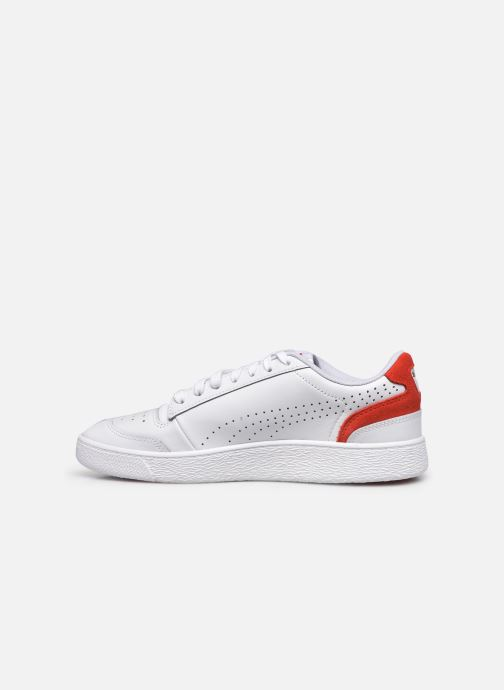 Sneakers Puma Ralph Sampson Lo Perf Brushed Bianco immagine frontale