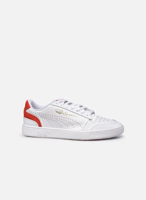 Baskets Puma Ralph Sampson Lo Perf Brushed Blanc vue derrière