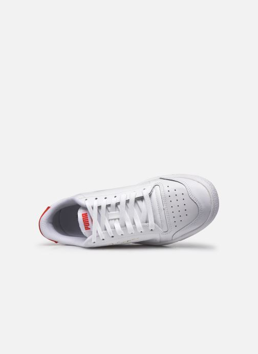 Baskets Puma Ralph Sampson Lo Perf Brushed Blanc vue gauche