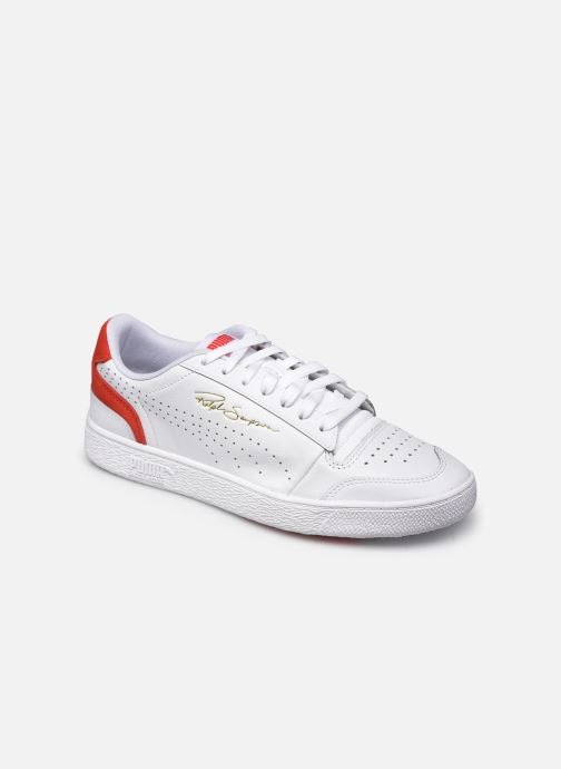 Baskets Puma Ralph Sampson Lo Perf Brushed Blanc vue détail/paire