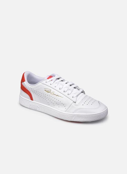Sneaker Puma Ralph Sampson Lo Perf Brushed weiß detaillierte ansicht/modell