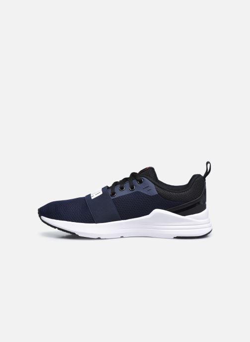 Sneaker Puma Wired Run blau ansicht von vorne