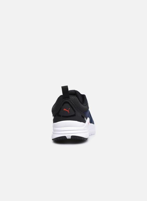 Sneaker Puma Wired Run blau ansicht von rechts