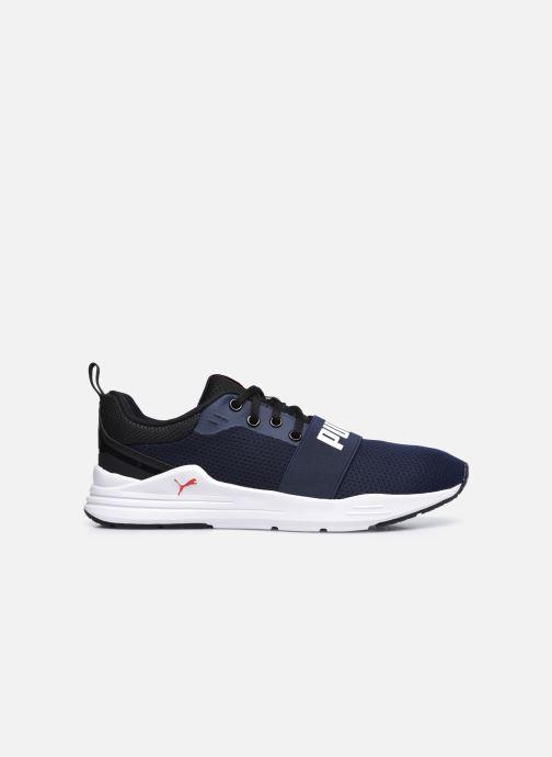 Sneaker Puma Wired Run blau ansicht von hinten
