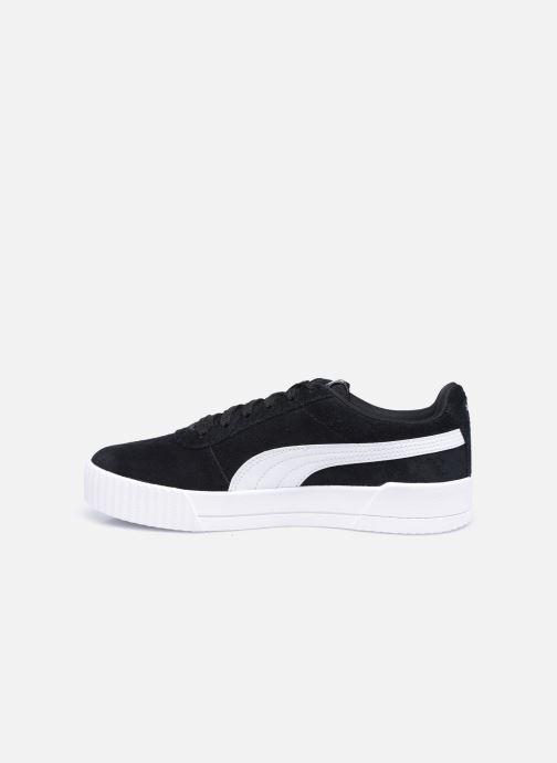 Sneakers Puma Carina Nero immagine frontale