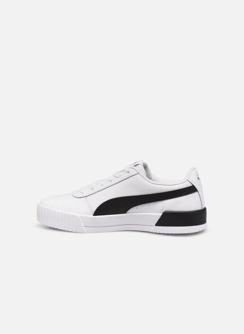 Sneakers Puma Carina L Bianco immagine frontale
