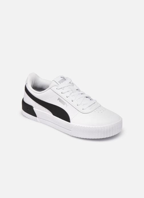 Sneakers Puma Carina L Wit detail