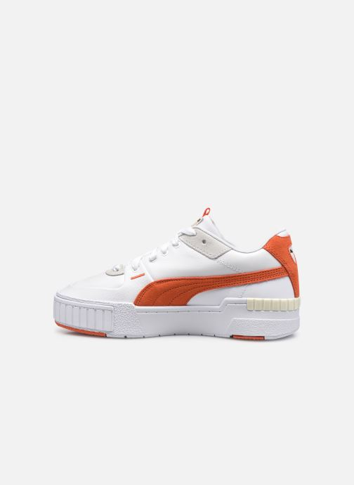 Sneakers Puma Cali Sport Mix Wn's Wit voorkant