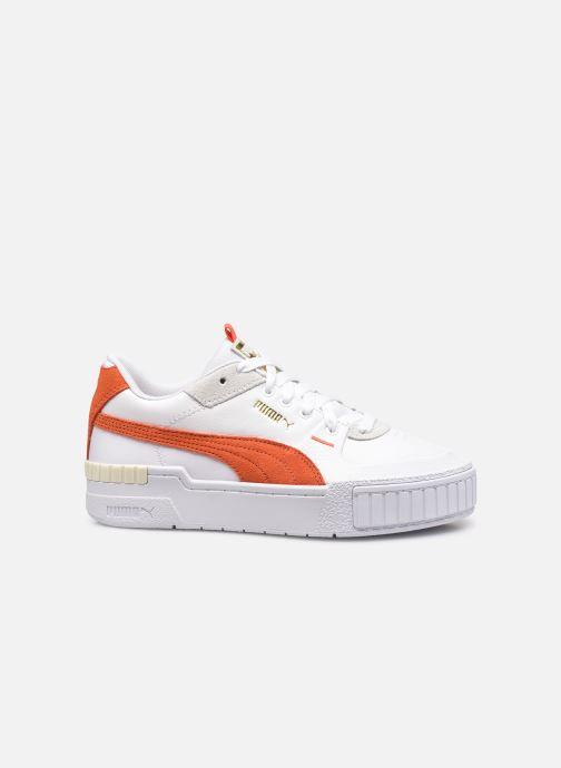 Sneakers Puma Cali Sport Mix Wn's Wit achterkant