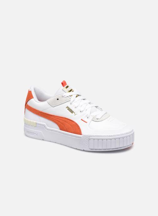 Sneaker Puma Cali Sport Mix Wn's weiß detaillierte ansicht/modell