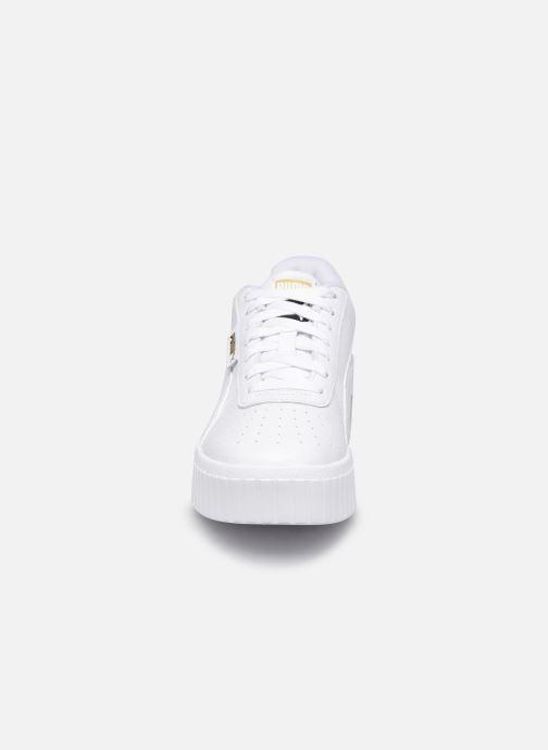 Baskets Puma Cali Wedge Wn's Blanc vue portées chaussures