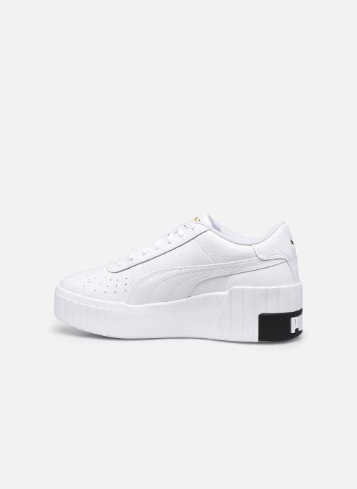 Sneaker Puma Cali Wedge Wn's weiß ansicht von vorne