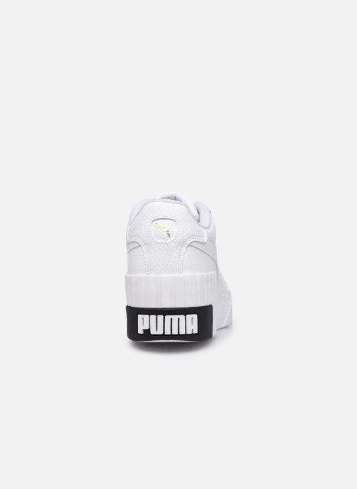 Sneaker Puma Cali Wedge Wn's weiß ansicht von rechts