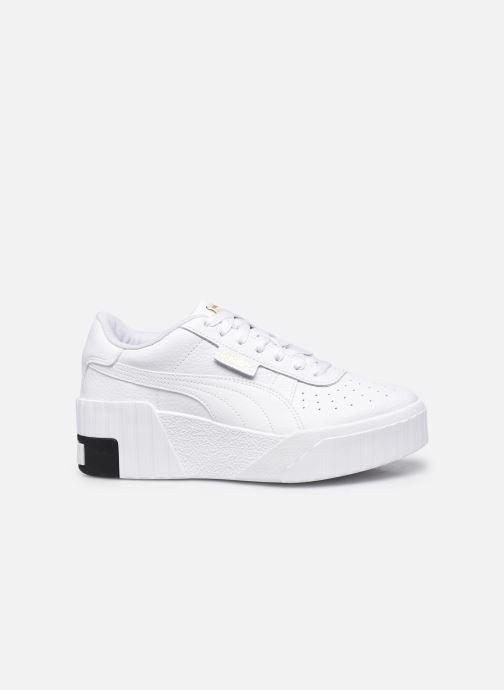 Sneaker Puma Cali Wedge Wn's weiß ansicht von hinten