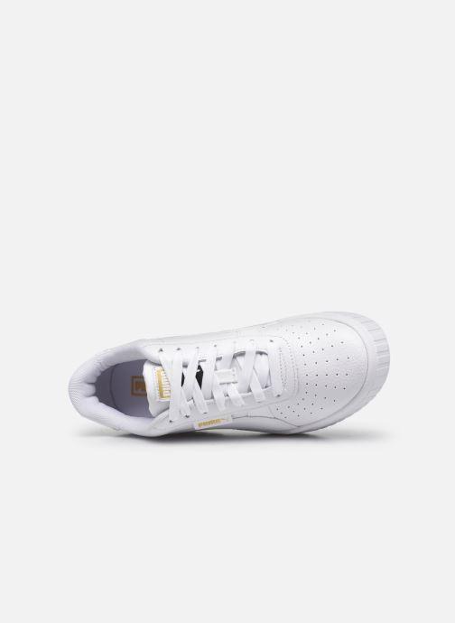 Sneaker Puma Cali Wedge Wn's weiß ansicht von links