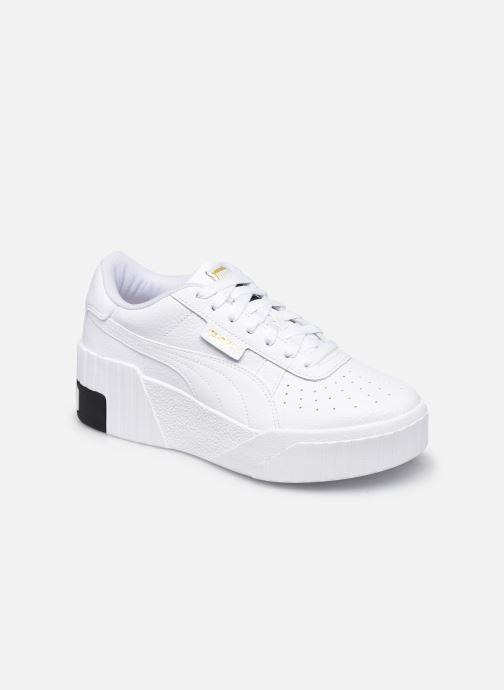 Baskets Puma Cali Wedge Wn's Blanc vue détail/paire