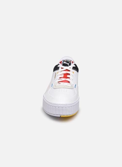 Sneakers Puma Cali Sport Unity Collection Bianco modello indossato