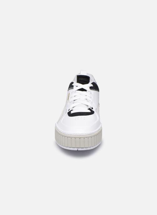 Baskets Puma Cali sport mix Blanc vue portées chaussures