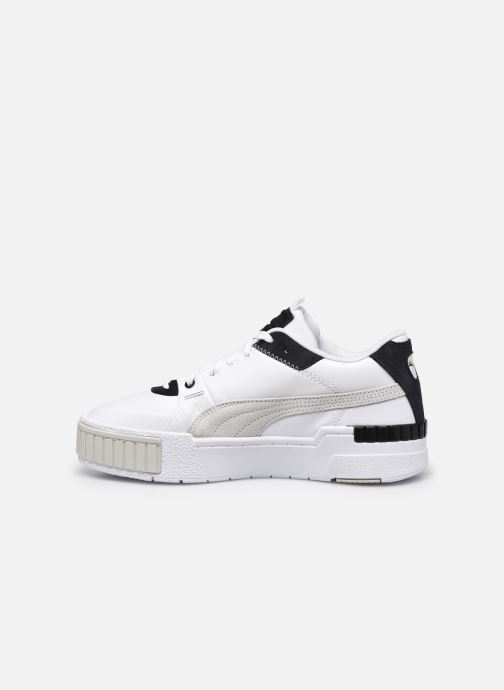 Baskets Puma Cali sport mix Blanc vue face