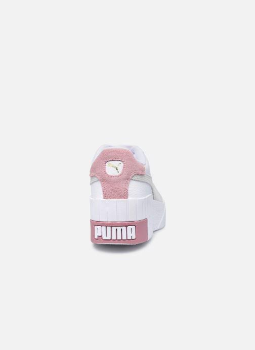 Deportivas Puma Cali Wedge Mix Wn's Blanco vista lateral derecha