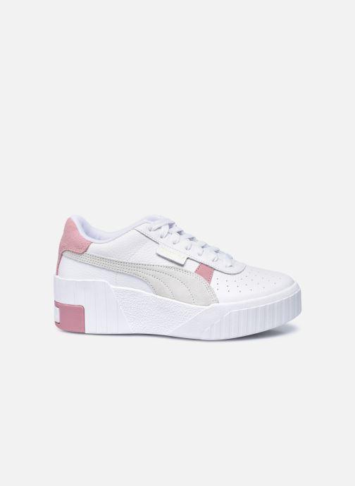 Baskets Puma Cali Wedge Mix Wn's Blanc vue derrière