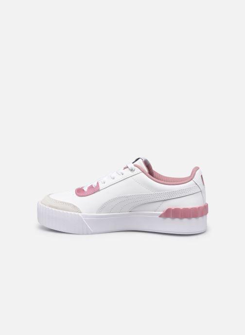 Sneaker Puma Carina Lift weiß ansicht von vorne