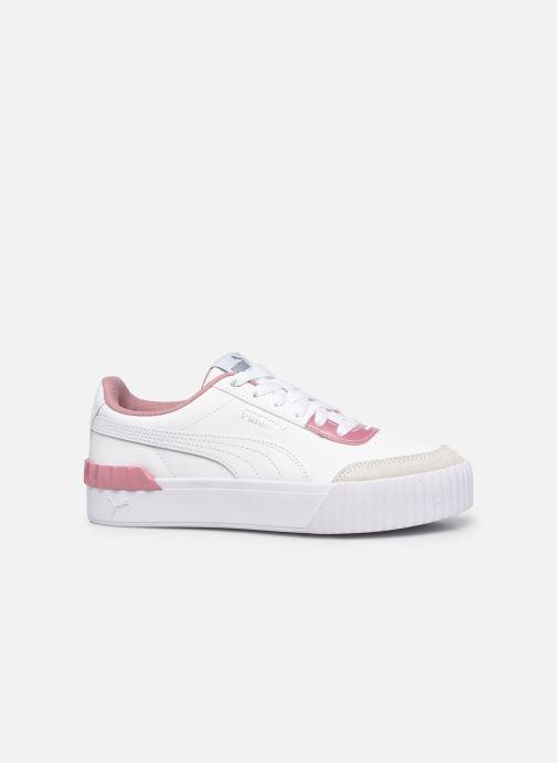 Sneaker Puma Carina Lift weiß ansicht von hinten