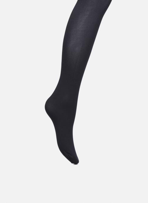Chaussettes et collants Dim BODY TOUCH Collant NudeSensation Ultra-Opaque 60D Noir vue portées chaussures