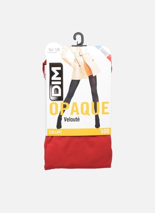 Calze e collant Dim Collant Opaque Velouté 50D Rosso vedi dettaglio/paio