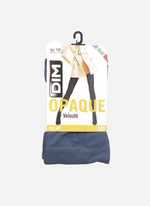 Socken & Strumpfhosen Dim Collant Opaque Velouté 50D blau detaillierte ansicht/modell