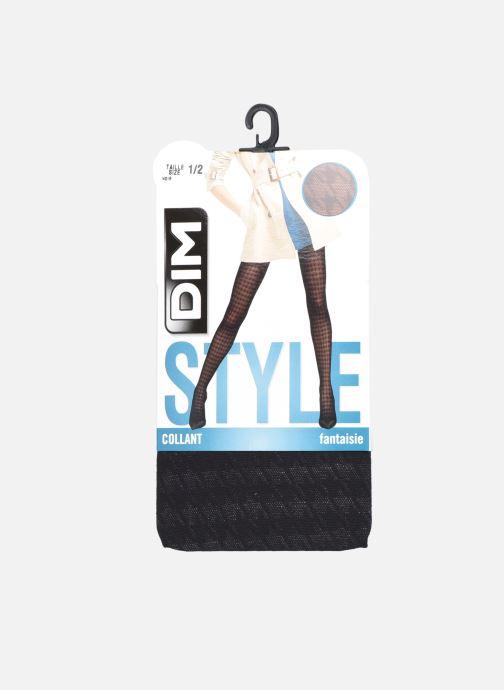 Socken & Strumpfhosen Dim STYLE Collant Pied de Coq 42D schwarz detaillierte ansicht/modell