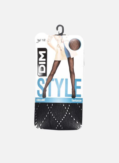 Chaussettes et collants Dim STYLE Collant Résille Losange 73D Noir vue détail/paire