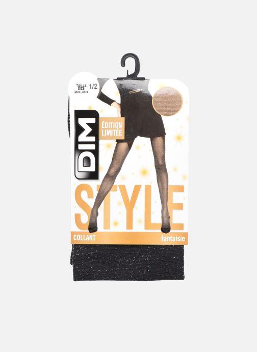 Chaussettes et collants Dim STYLE Collant Lurex 23D Noir vue détail/paire